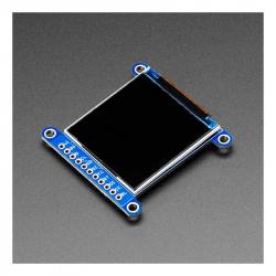 "Adafruit 1.54"" 240x240 Wide Angle TFT LCD Display with MicroSD (ST7789)"