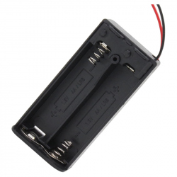Battery Case with Cover (2 x R6)