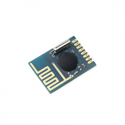 Miniature 2.4 GHz Transceiver Compatible with nRF24L01 (with a single line of pins)