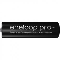 Panasonic battery Eneloop PRO R6 AA 2500 mAh BK-3HCDE - 1 piece