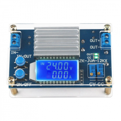 Step Down DC-DC Power Supply with Display (5 A, IN: 6.5 - 36 V, OUT: 1.2 - 32 V)