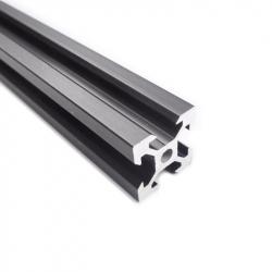 V-Slot Black Aluminium Profile 20 cm