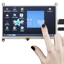 Adafruit 7'' 800 x 480 Display with Touchscreen and HDMI Compatible Entry