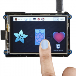 TFT 3.5'' 480 x 320 Adafruit Display with Touchscreen for Raspberry Pi