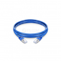 1 meter CAT7 SFTP Patch Cable Blue