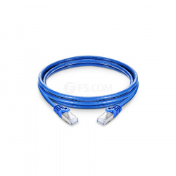 10 meters CAT7 SFTP Patch Cable Blue