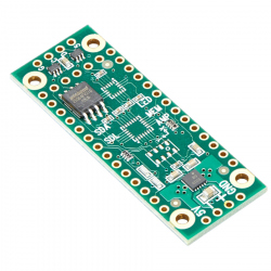 PJRC Shield with Audio Amplifier, Flash Memory and Led Driver for 3.2 Teensy and Teensy-LC