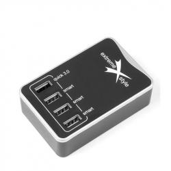 4 Ports USB Xtreme 6.2A DC624U Hub