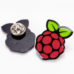 Raspberry Pi Pin Badge