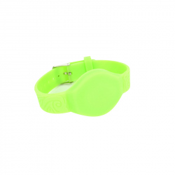 RFID 13.56 MHz Green Bracelet