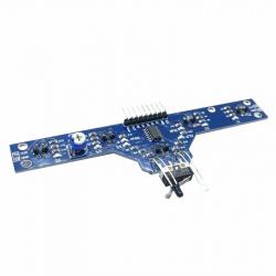 Infrared Sensor Array for Line Following Robots