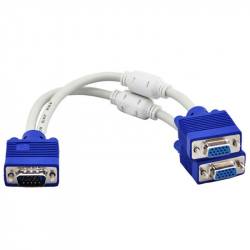 2 x VGA Splitter with 20cm Cable