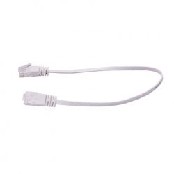 UTP Flat Cable, CAT6, White, 5 m
