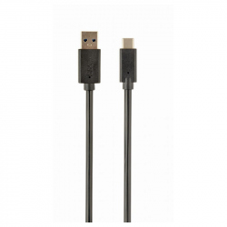 USB 3.0 AM to Type-C cable (AM/CM), 1 m