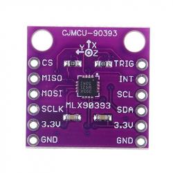 MLX90393 Triaxial Hall Sensor (Magnetometer)