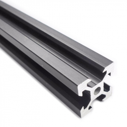 V-Slot Black Aluminium Profile 15 cm
