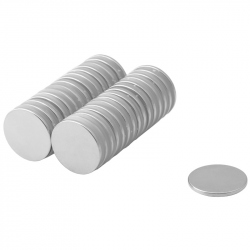 Neodymium Disc Magnet 20x1,5 Thick N38