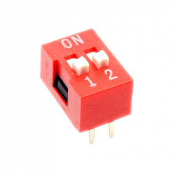 Red DIP Switch (2p)