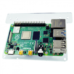 Mount Device on Monitor Back for Raspberry Pi 4, Compatible with Multicolored Cases