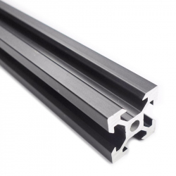 V-Slot Black Aluminium Profile 10 cm