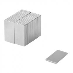 Neodymium Block Magnet 30x15x1 Thick N38