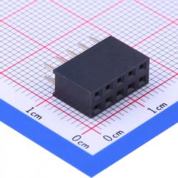2 x 5p Female Pin Header 2.54 mm