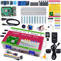 Plusivo Pi 4 Super Starter Kit with Raspberry Pi 4 with 8 GB of RAM and 32 GB sd card with NOOBs
