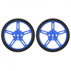 Wheel 60×8mm Pair - Blue