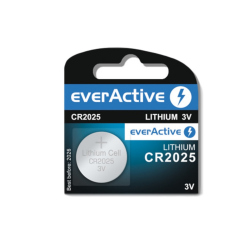 CR2025 EverActive Lithium Battery