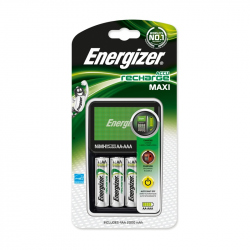 Charger Set For Energizer Maxi With 4 Battery R6/AA 2000 mAh
