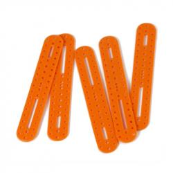 Oval Plastic Building Block - Orange
