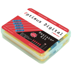 Optimus Digital Resistor Assortment Kit - 10Ω TO 1M (600 Pcs)
