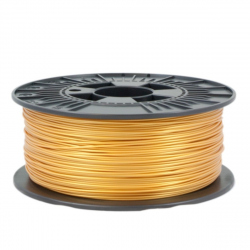 1.75 mm, 1 kg PLA Filament For 3D Printer - Light Gold