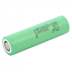 2500 mAh 18650 INR18650-25R 20 A Samsung Li-Ion Battery