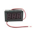 "2 Wire DC Voltmeter Panel 0.56"""