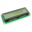 1602 LCD with I2C Interface and Yellow-Green Backlight