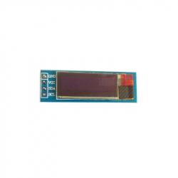 "Blue 0.9"" OLED Module (128x32 px)"