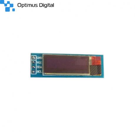 Modul OLED Albastru de 0.91'' (128x32 px)