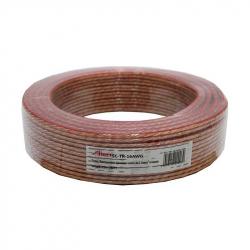 Transparent Speaker Cable 2x1.5mm 25m
