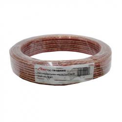 Transparent Speaker Cable 2x0.75mm 10m