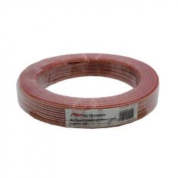Transparent Speaker Cable 2x0.5mm 25m