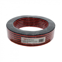 Red / Black Speaker Cable 2x1.5mm 25m