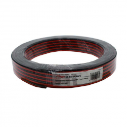Red / Black Speaker Cable 2x0.75mm 25m