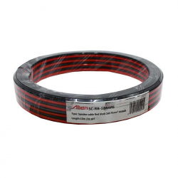 Red / Black Speaker Cable 2x0.75mm 10m