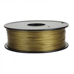 1.75 mm, 1kg PLA Silk Gloss Filament For 3D Printer - Bronze