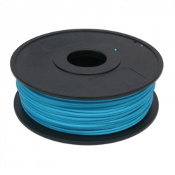 1.75 mm, 1kg PLA Silk Gloss Filament For 3D Printer - Light Blue