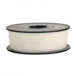 1.75 mm, 1kg PLA Silk Gloss Filament For 3D Printer - White
