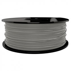 1.75 mm, 1kg PLA Silk Gloss Filament For 3D Printer - Silver