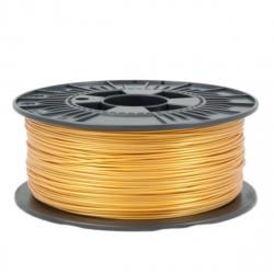 1.75 mm, 1kg PLA Silk Gloss Filament For 3D Printer - Gold