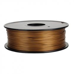 1.75 mm, 1kg PLA Silk Gloss Filament For 3D Printer - Golden Bronze